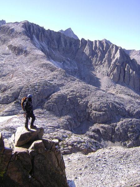 Unnamed Peak in Middle Palisade Range. 2009