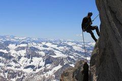 Rock Climbing Photo: North Palisade. July 4 2010
