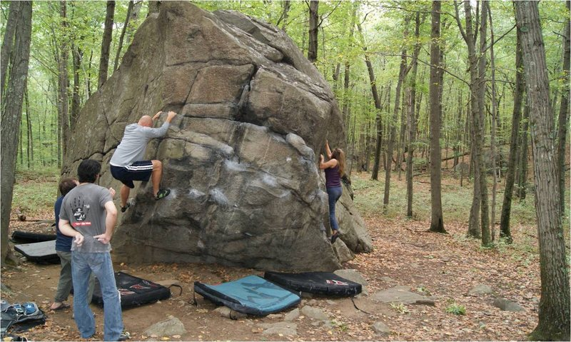 Rock Climbing Photo: Front Side of the Prow
