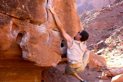 Rock Climbing Photo: Big Bend Bouldering