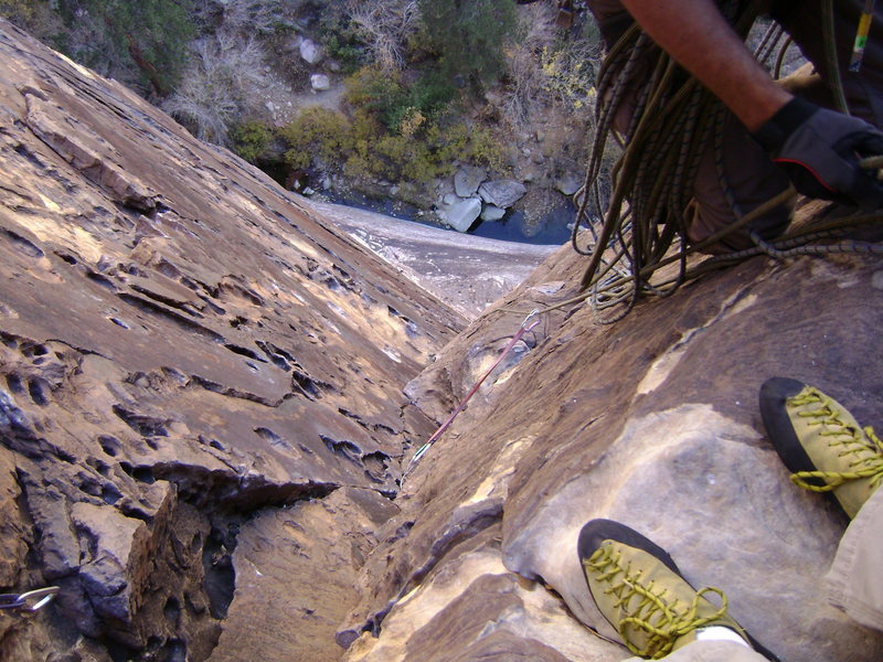 Rock Climbing Photo: Dark Shadows