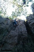 Rock Climbing Photo: Cody Brua doing the first accent of racecar ya ya'...