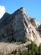 Rock Climbing Photo: Sundial peak as we hiked down after the climb.