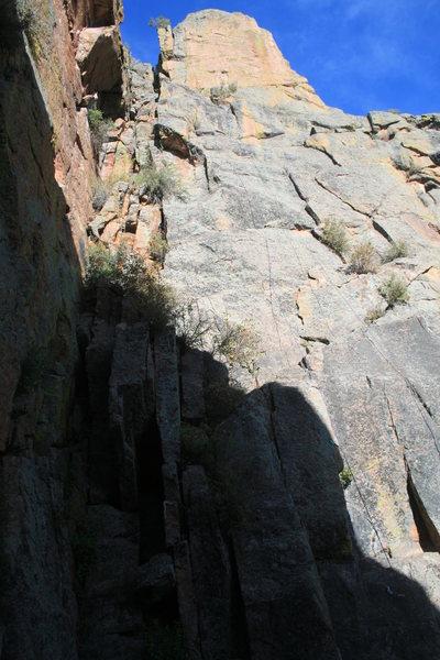 Rock Climbing Photo: Route pic.