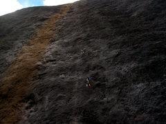 Rock Climbing Photo: SKY PILOT 5.13