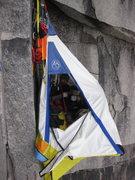 Rock Climbing Photo: Camp at pitch 5