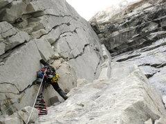 Rock Climbing Photo: Chino Climbing 3 pitch
