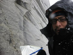 Rock Climbing Photo: Bad Weather
