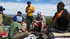 Rock Climbing Photo: Felipe,Mono,Chapa,Claudio y Drew