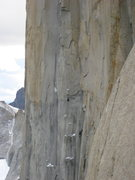 Rock Climbing Photo: Belgas en Sudafrican Route Central tower