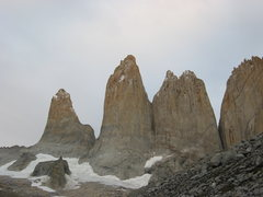 Rock Climbing Photo: Las Torres del Paine (East face)