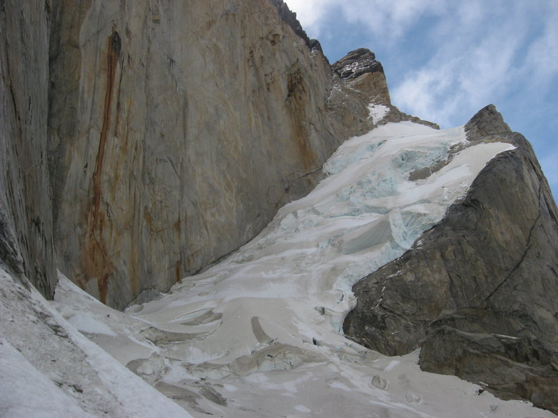 Rock Climbing Photo: Glaciar de la Pared Peineta