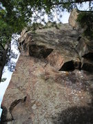 Rock Climbing Photo: Top of; Killer Bunnies on extreme left, bolted and...