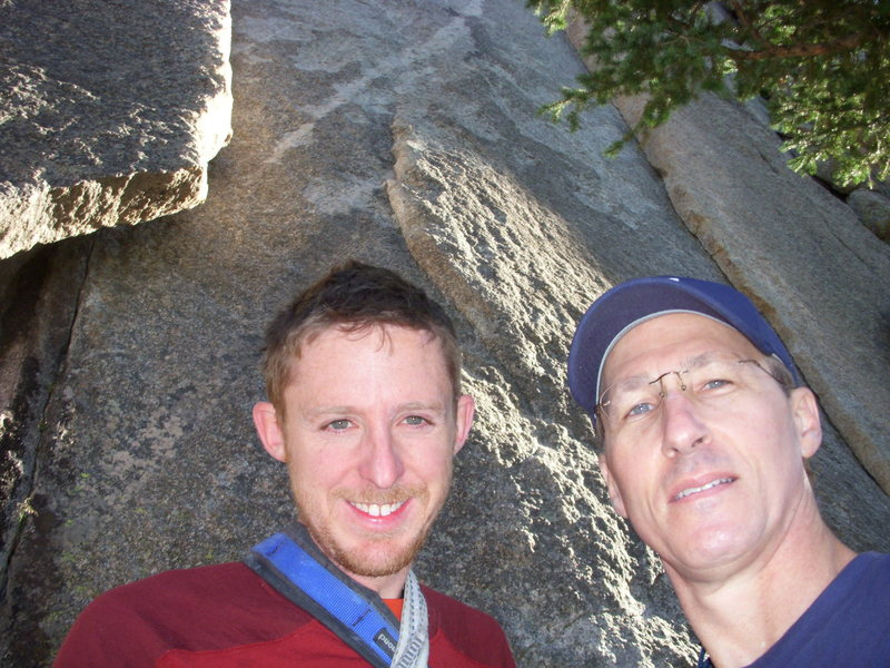 Rock Climbing Photo: Tommy had contributed a day of his time to climb w...