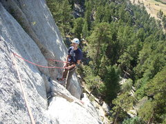 Rock Climbing Photo: The route was a Kor classic... Pear Buttress on Th...