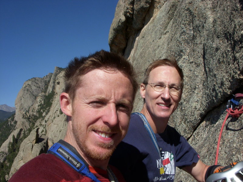 Rock Climbing Photo: What a great day with a great guy and a true ambas...