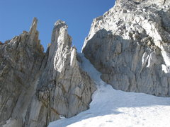 Rock Climbing Photo: 24-September-2010: 3.5 pitches of ice in right cou...