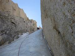 Rock Climbing Photo: 24-September-2010: Second pitch