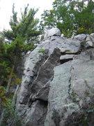 Rock Climbing Photo: Fuzzy on the top.