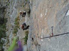 Rock Climbing Photo: Captain Clark