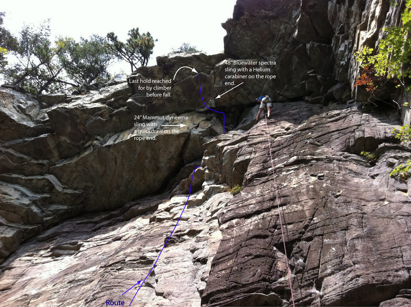 Rock Climbing Photo: Photo of the climb
