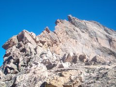 Rock Climbing Photo: View from western saddle.