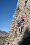 Rock Climbing Photo: This photo serves primarily to show about three ti...
