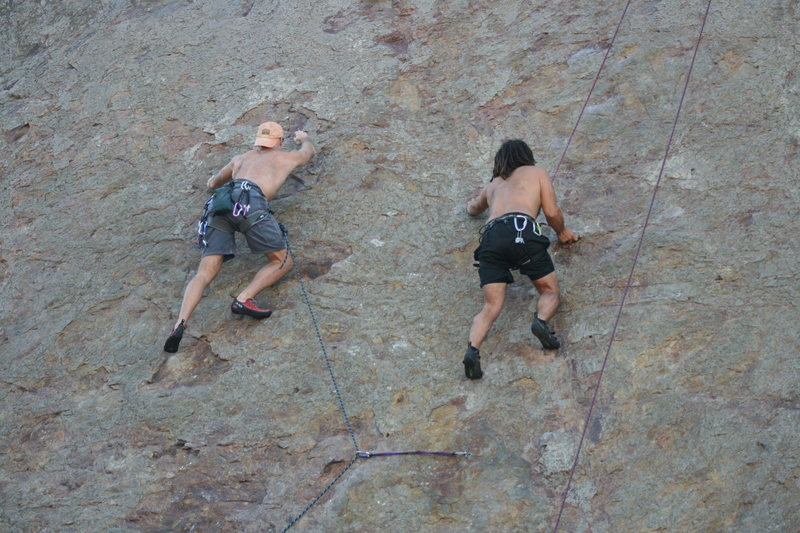 Rock Climbing Photo: From 9-26-10