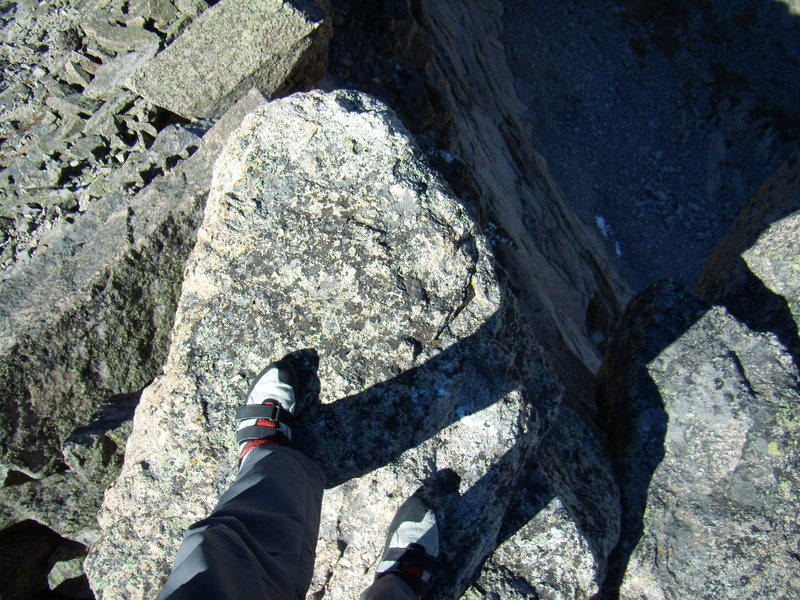 Summit of Spearhead.  RMNP 9-25-2010