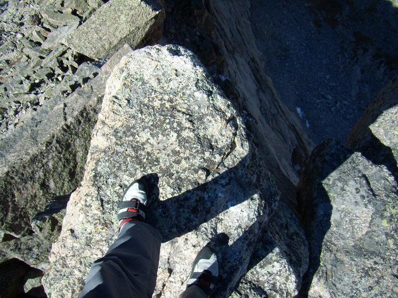 Summit of Spearhead.  RMNP 9-25-2010