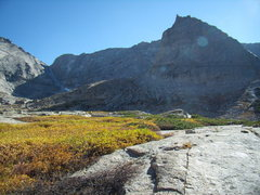 Rock Climbing Photo: Spearhead in the Fall.  RMNP 9-25-2010.