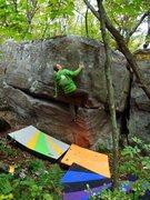 Rock Climbing Photo: Matt on FM.