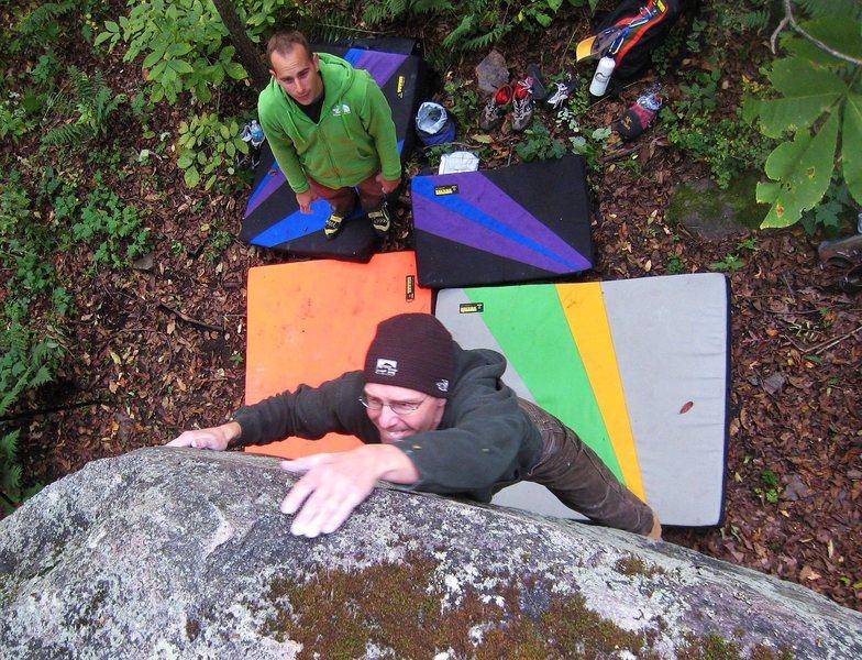 Rock Climbing Photo: Egghead on FM, super fun, photo Pauly.