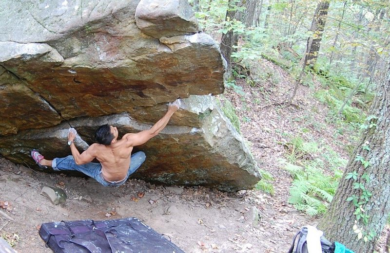 Rock Climbing Photo: Not sure if i started this right, but it was still...
