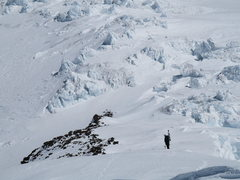 Rock Climbing Photo: Climbing to ski the Fuhrer Finger Route. Photo by ...
