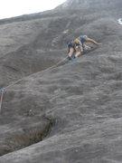 Rock Climbing Photo: Seconds' 2nd pitch start.
