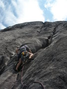 Rock Climbing Photo: Seconds, 4th pitch start.