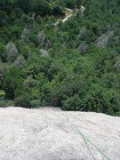 Rock Climbing Photo: Deceptively sunny.