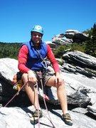 Rock Climbing Photo: Ship Rock, above Boardwalk belay.