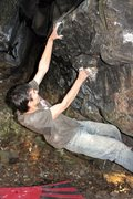 Rock Climbing Photo: Richard on Dice Moves