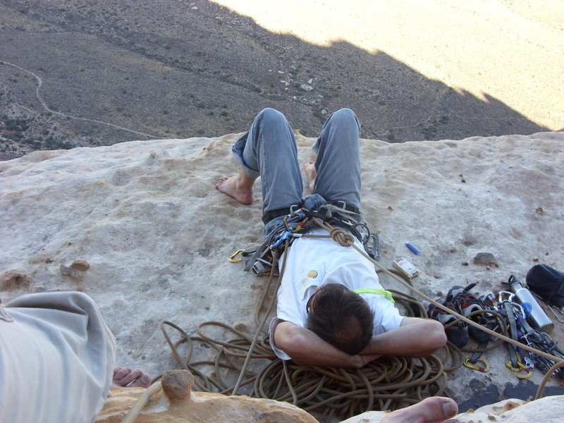 Rock Climbing Photo: Worth every minute getting up there