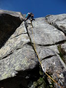 Rock Climbing Photo: Top of the crack as you can see from the ground - ...