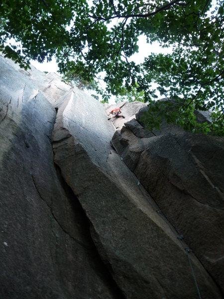 Rock Climbing Photo: Delicious corner