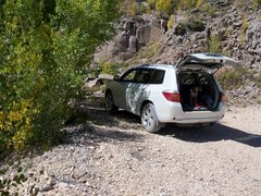 Rock Climbing Photo: Upper Jungle parking.