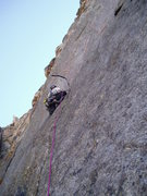 Rock Climbing Photo: This route is good