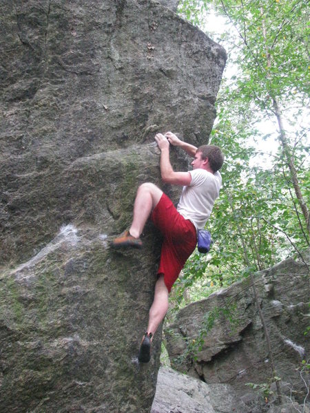 Rock Climbing Photo: Mitch sending pop or drop