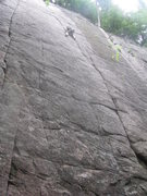Rock Climbing Photo: Jesse on 5 Star Crack