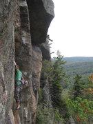 Rock Climbing Photo: Ken climbing Push