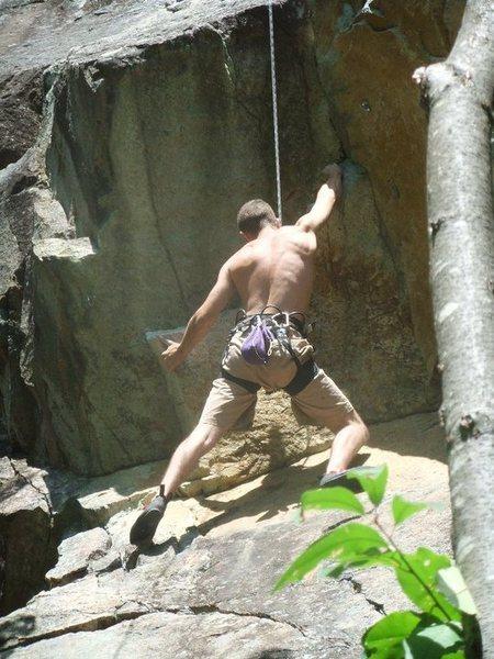 climbing Hooverville