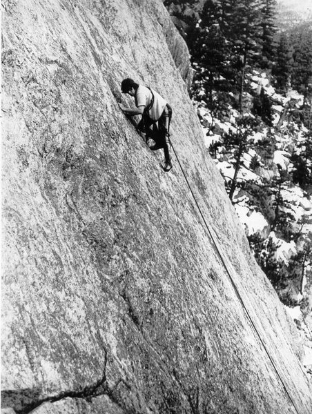 Climbing was a little different in BC in the not so distant past. In fact, really, really different!